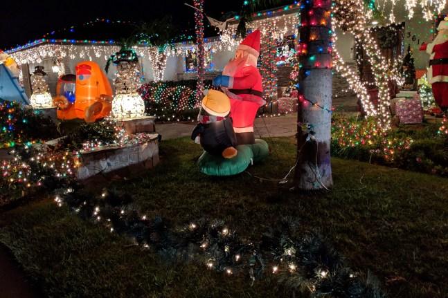 Christmas Yard Santa