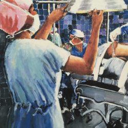 Nurses in the Operating Room Artwork