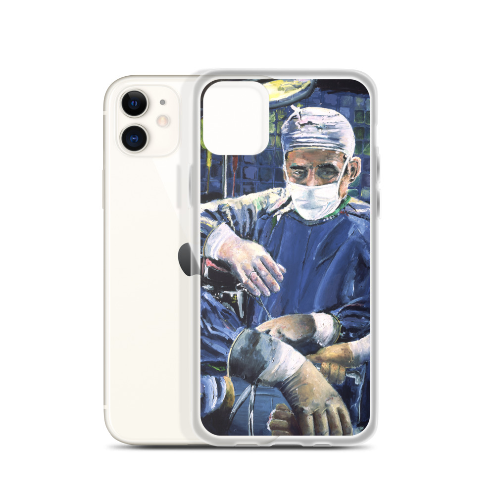 Magic Hands of the Surgeon iPhone Case