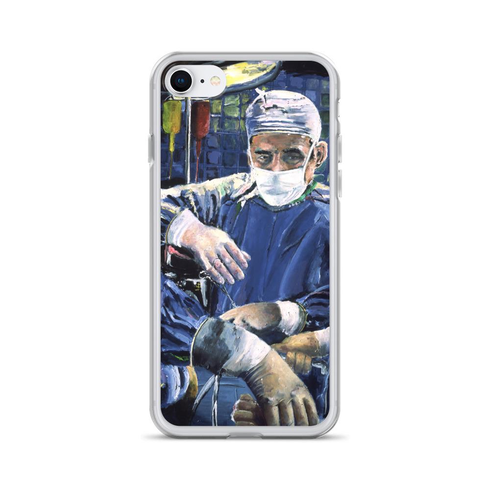 Magic Hands of the Surgeon Liquid Glitter Phone Case