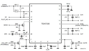 FM Stereo decoder using TDA7388 Radio Frequency