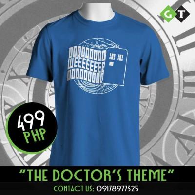 Geeking Tom Doctor Who Shirt