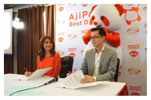 AjiPanda Signing