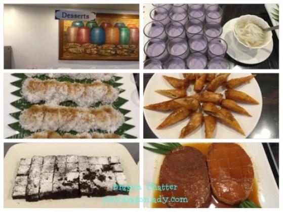 Quezon Buffet Dessert