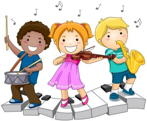 kids and music