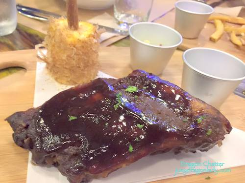 Applewood Smoked BabyBackribs 350php