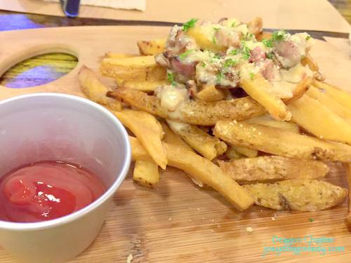 Bacon Fat Fries 160php