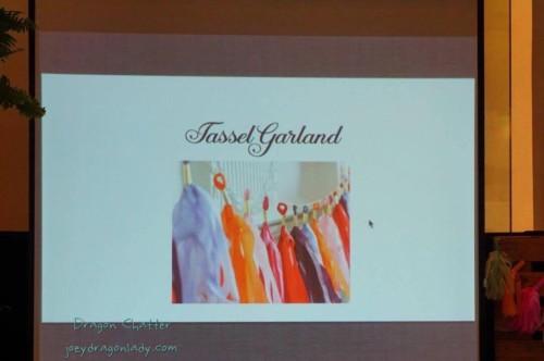 The School of Styling Tassel & Garland Making