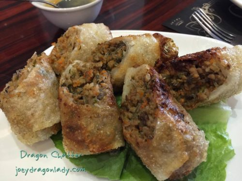 Bistro Charlemagne Fried Lumpia (Vietnamese spring Rolls)