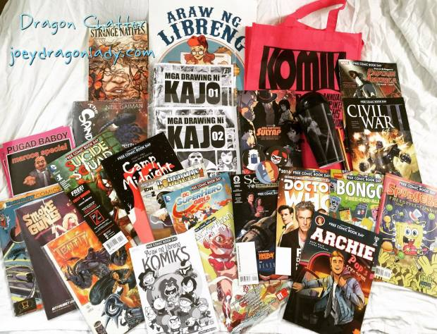 FCBD2016 Haul and purchases