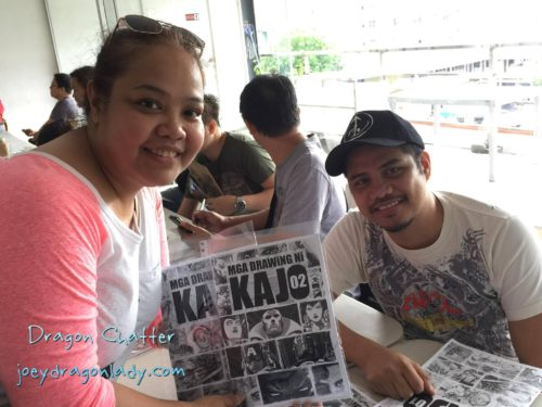FCBD2016 with Kajo Baldesimo