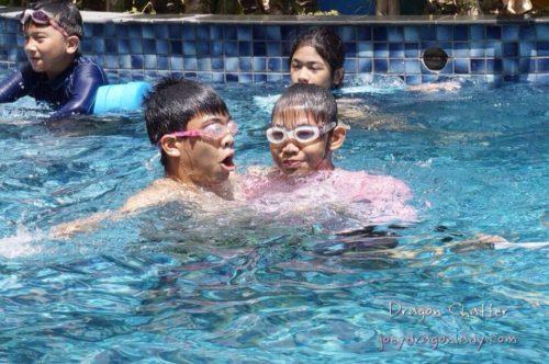Streamline Sports Instructions Jar and Ate Raffy swim