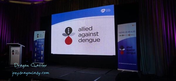 Allied Against Dengue stage