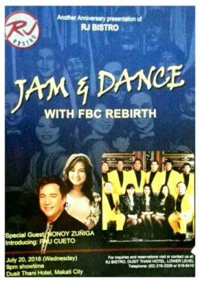 Jam & Dance Poster