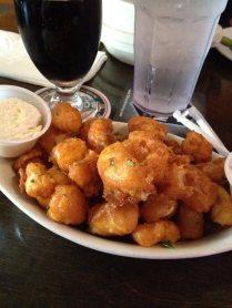 cheese curds at twenty tap -- thanks, benson!
