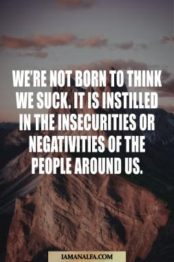 Inspirational quote by Gary Vaynerchuck on insecurity