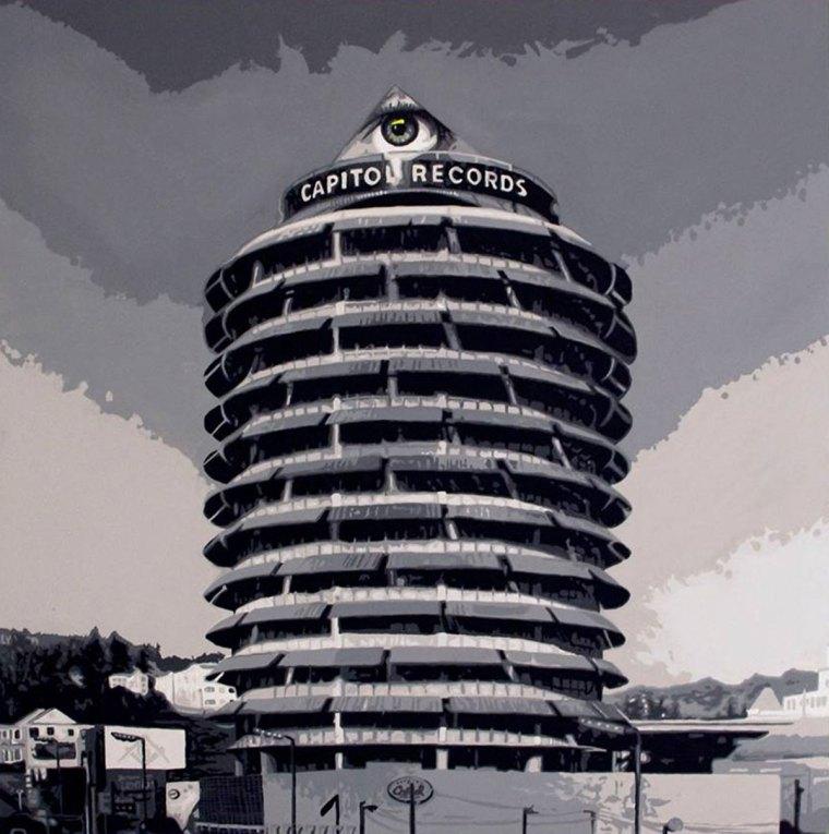 Pop Art, art, Joey Maas, Capitol Records, Hollywood illuminati, Palm Springs Art