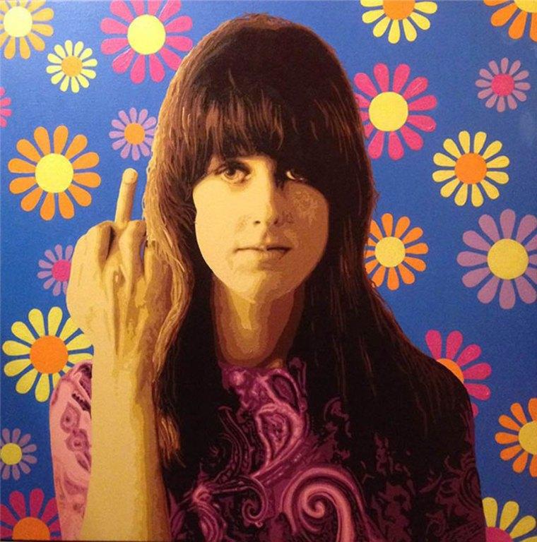 Pop Art, art, Joey Maas, Palm Springs Art, Grace Slick, Jefferson Airplane, Jefferson Starship, San Francisco
