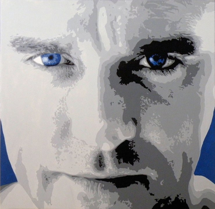 Pop Art, art, Joey Maas, Palm Springs Art, morrissey, moz
