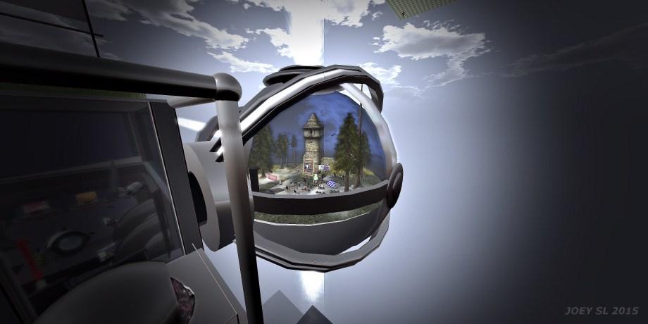 Das SL-Planetarium, wie immer tolle Kulisse