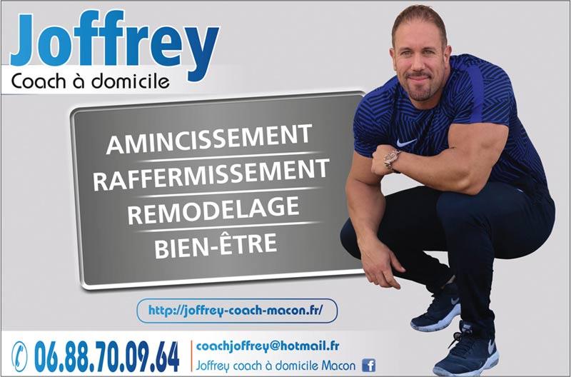 شاغر تروج يشجع يعزز ينمى يطور عيشة رغيدة joffrey coach sportif macon