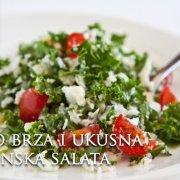 Vrlo brza i ukusna sezonska salata