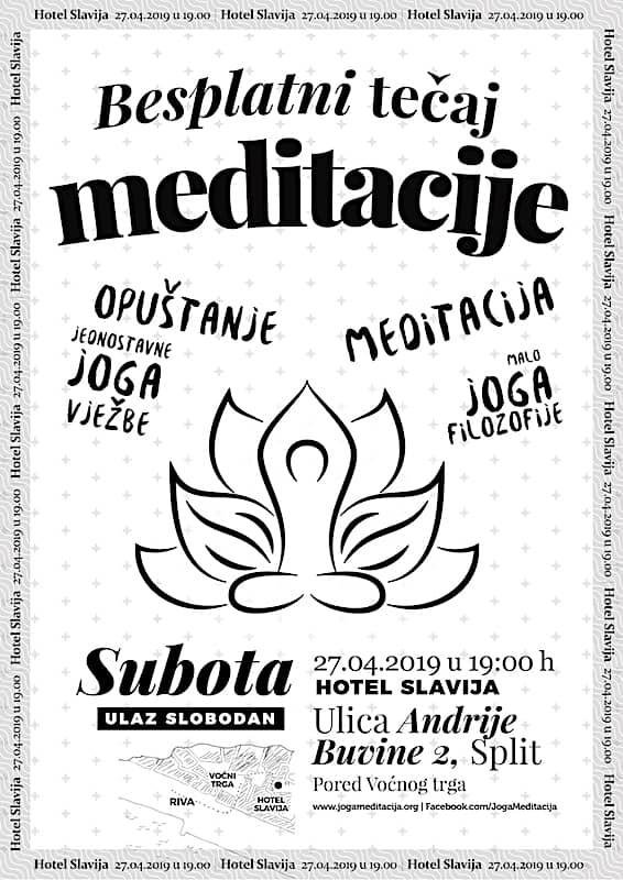 Besplatni tečaj meditacije