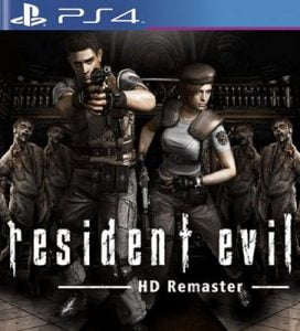 Resident Evil HD Remaster PS4