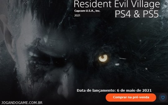 Notícias sobre resident evil village ps4 e ps5