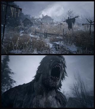imagens do jogo resident evil village cenário