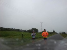Me and Willie at about 12km.