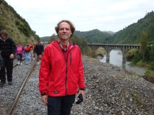 Gerry, with Ballance bridge in the back.