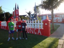 Willie, Gerry and myself in front of a (clearly very committed) Tonga RWC supporter's house.