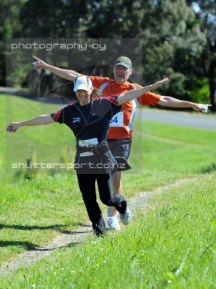 Photo by Shuttersport. The two of us still up for a laugh and a bit of fun.