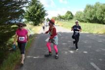 A clown en route for a bit of entertainment.