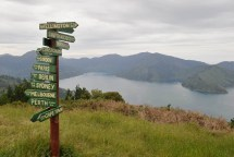The view from the highest point of the hike. Well worth the 1.5km detour to get there.