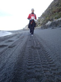 Lots of time spent running in loose sand.