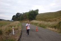 While the skies weren't as blue as the previous day at Taihape, we were still treated to near-perfect running conditions.