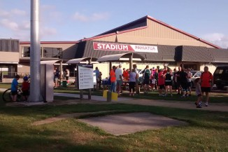 Stadium Pahiatua is the headquarters for the Bush Harriers's events.