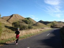 Running along the rolling hills is pure bliss.