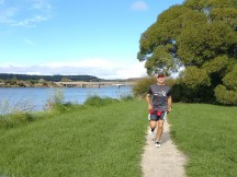 Gerry going strong after about 21km.