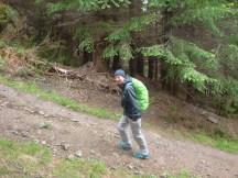 Very steep incline.