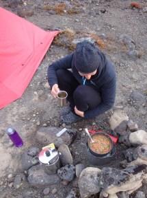 Preparing a feast fit for kings.
