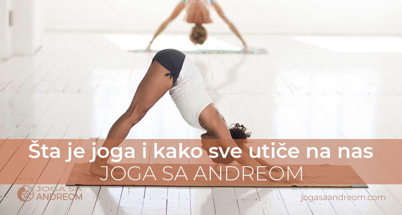 Šta je joga i kako sve utiče na nas   Joga sa Andreom