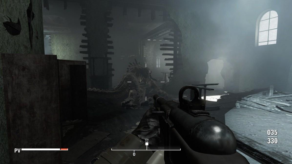 Parindo um ornitorrinco pra matar um Deathclaw que colocaram num local fechado quando duas porradas dele me matavam.