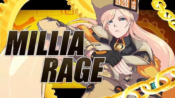 Millia Rage Guilty Gear Strive