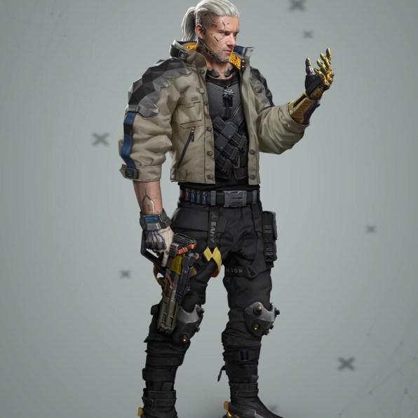 The Witcher x Cyberpunk 2
