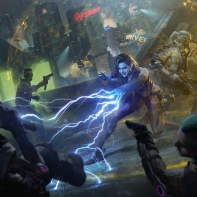 The Witcher x Cyberpunk 8
