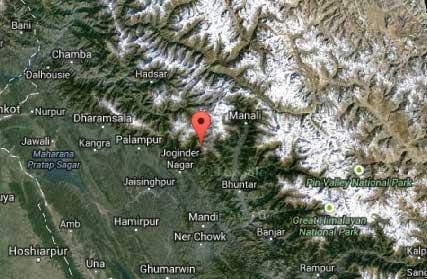 Map-Dehnasar-Lake-Mandi-Himachal-Pradesh