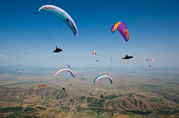 International Paragliding World Cup 2012